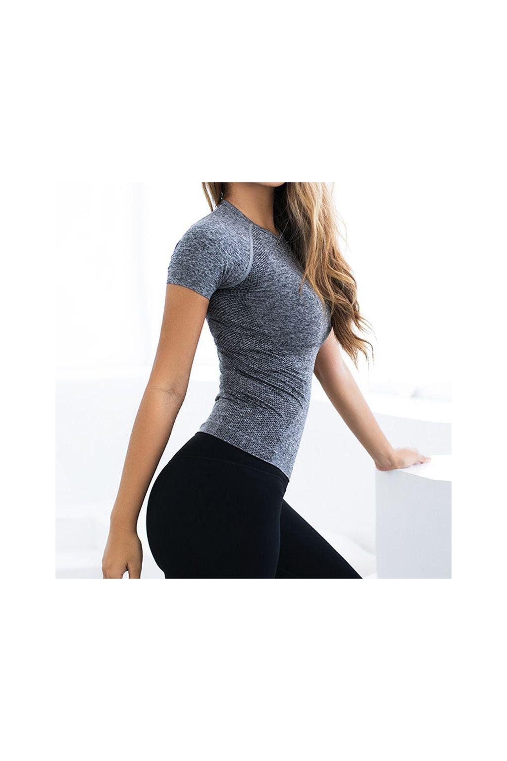 Dámské sportovní tričko Energy Grey
