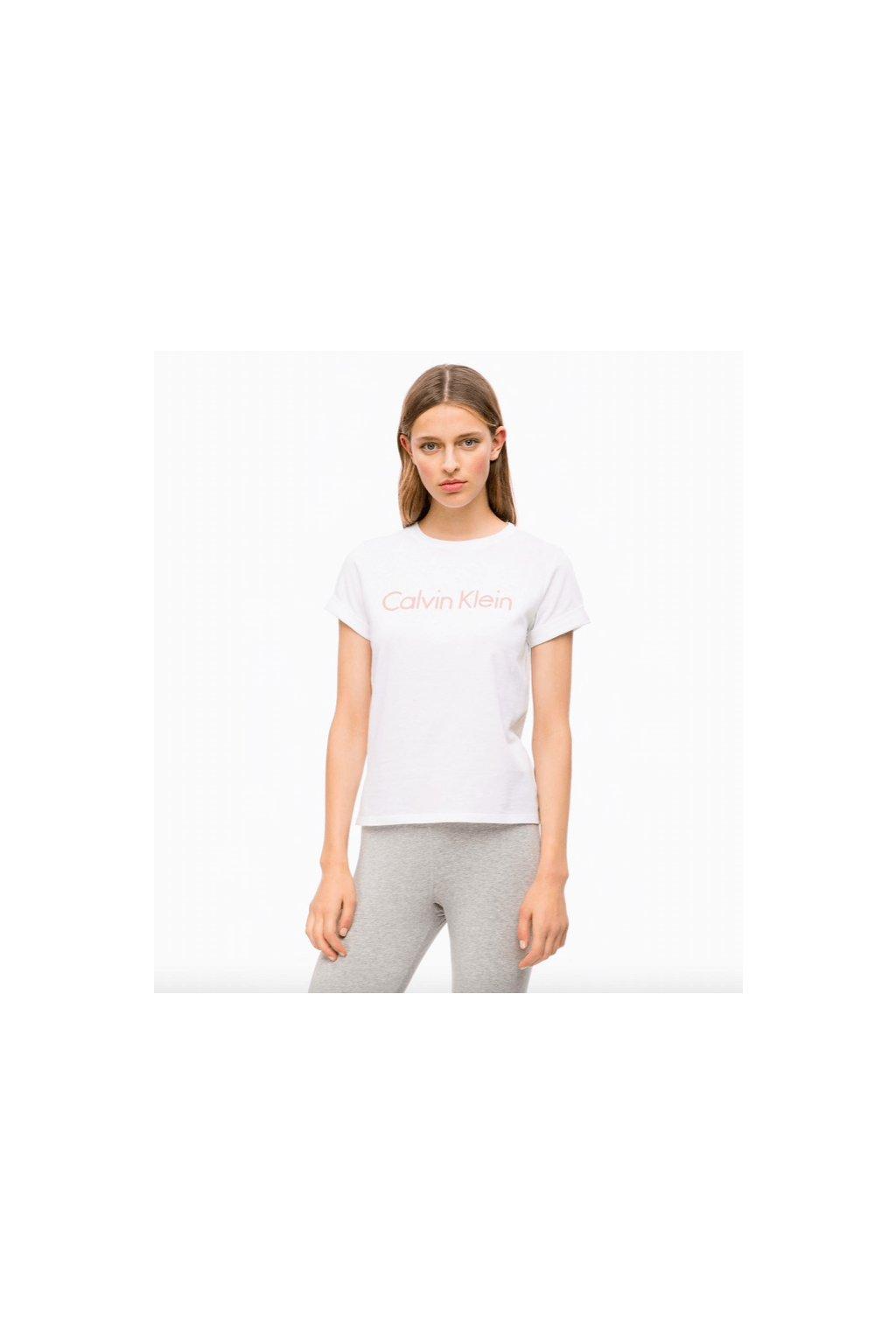 Calvin Klein Tričko 3D Logo White
