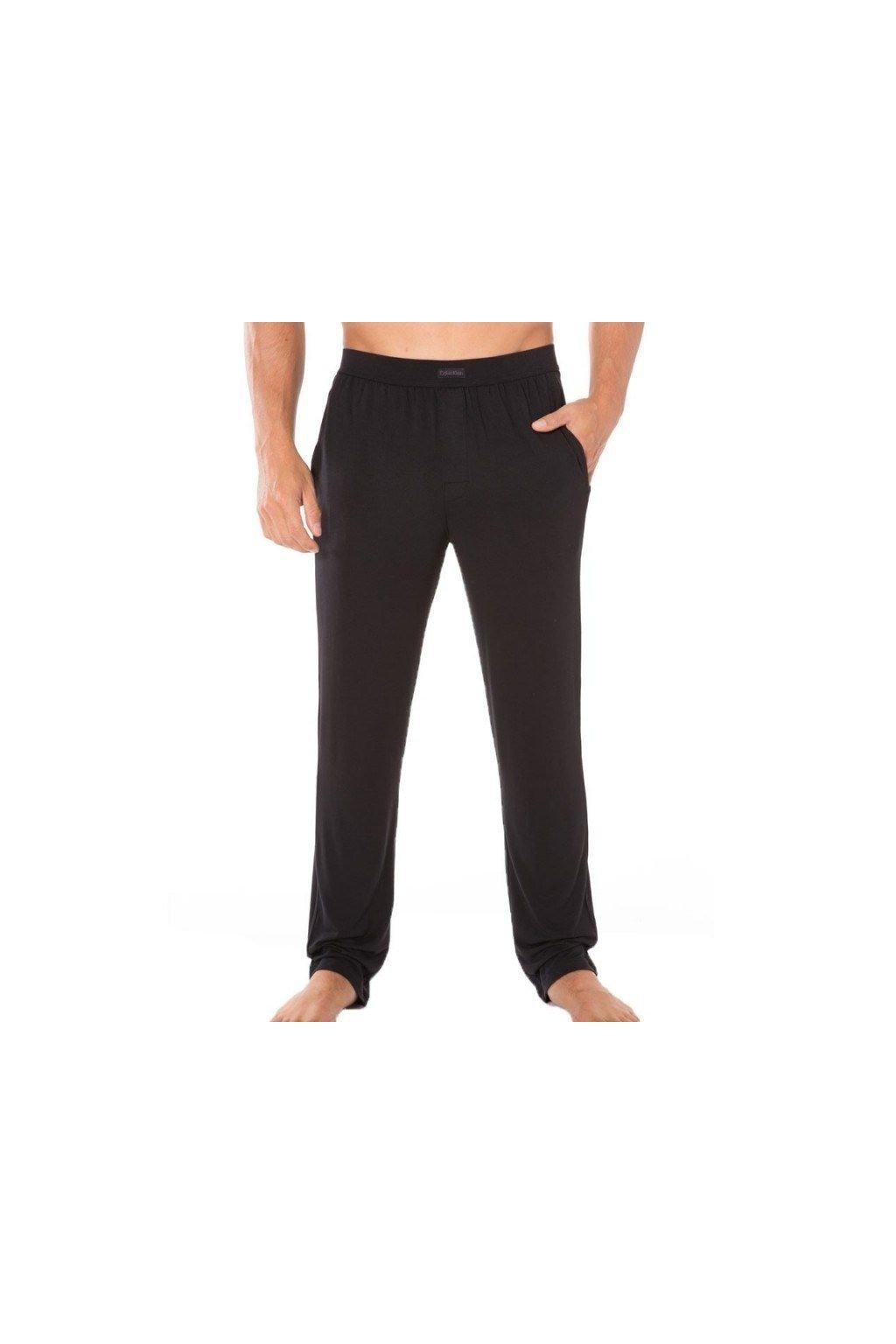 Calvin Klein Pánské Kalhoty Na Doma Černé