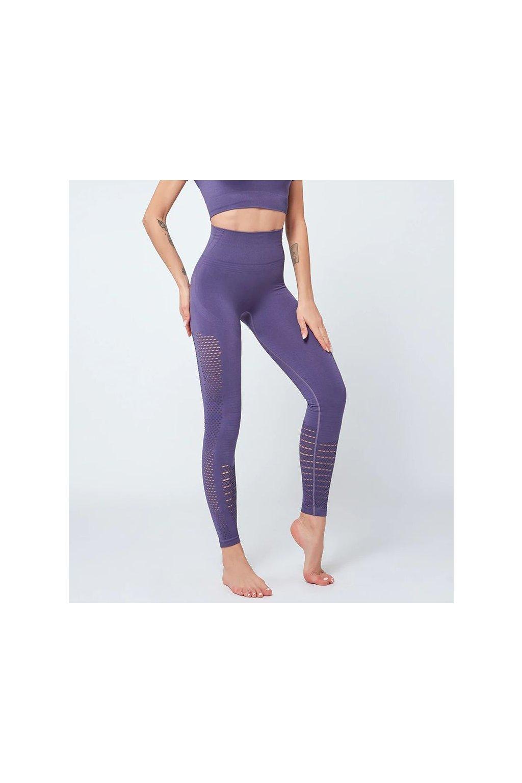 Dámské legíny Seamless Support Purple