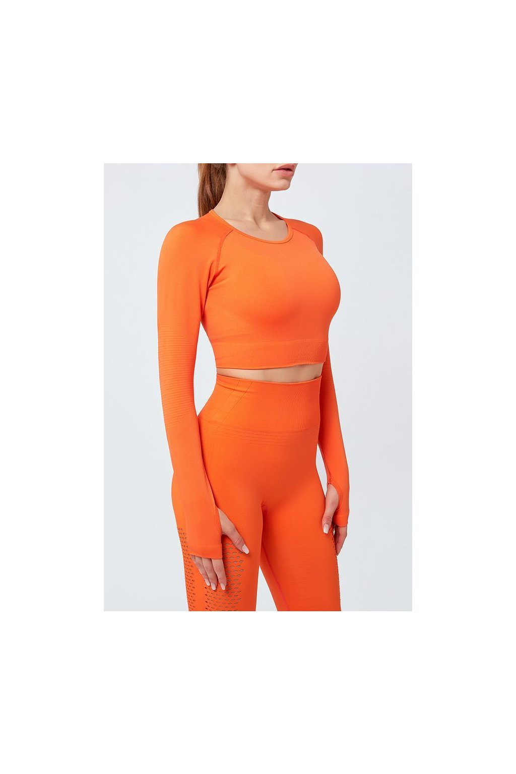 Dámský top Seamless Support Orange