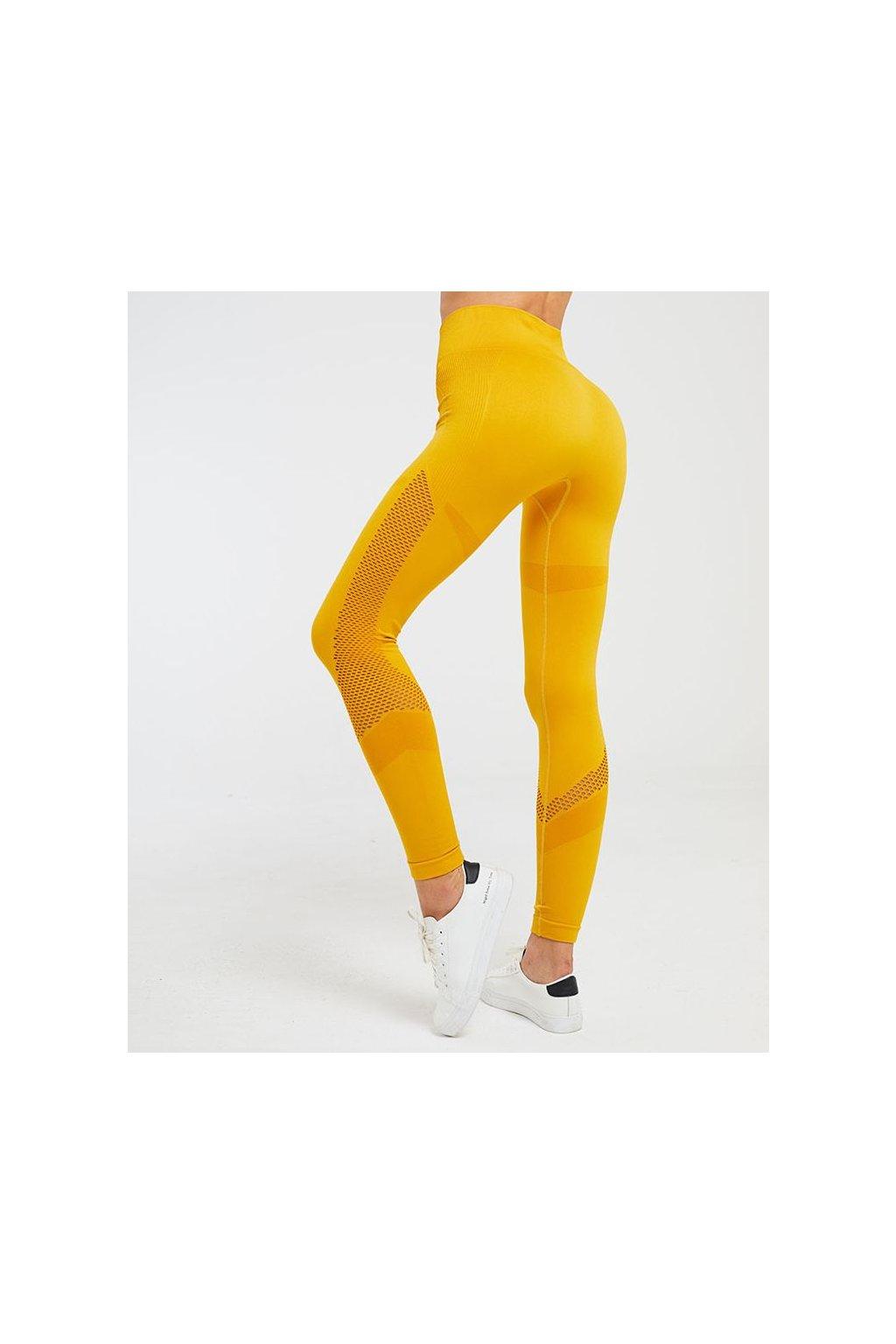 Dámské legíny Jenna seamless žluté