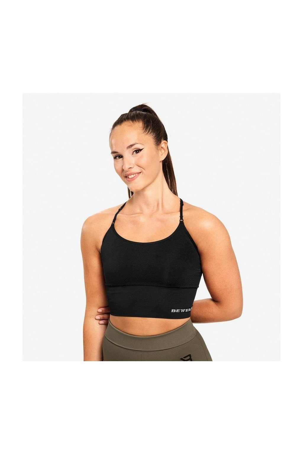 Better Bodies Podprsenka Astoria Seamless Black