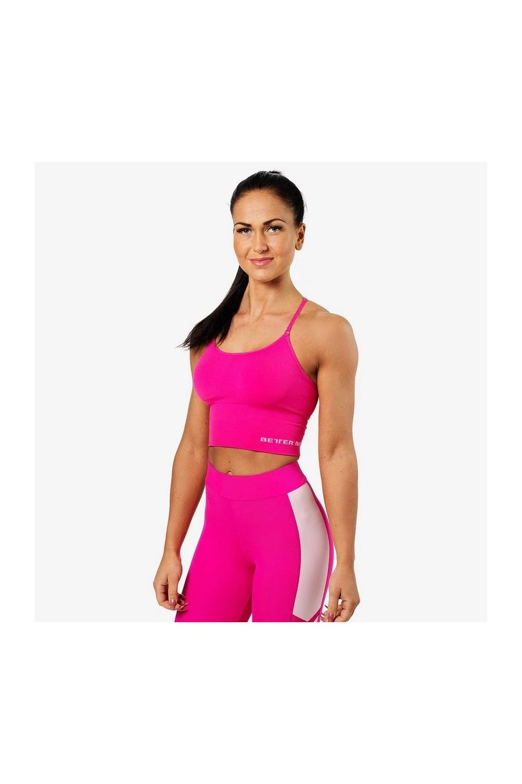 Better Bodies Podprsenka Astoria Seamless Hot Pink