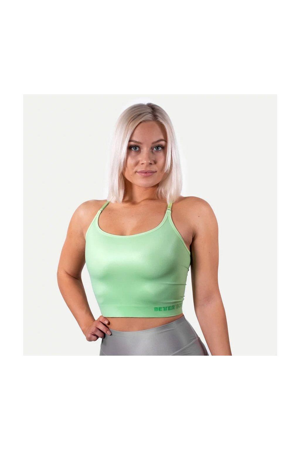 Better Bodies Podprsenka Vesey Strap V2 Mint Green