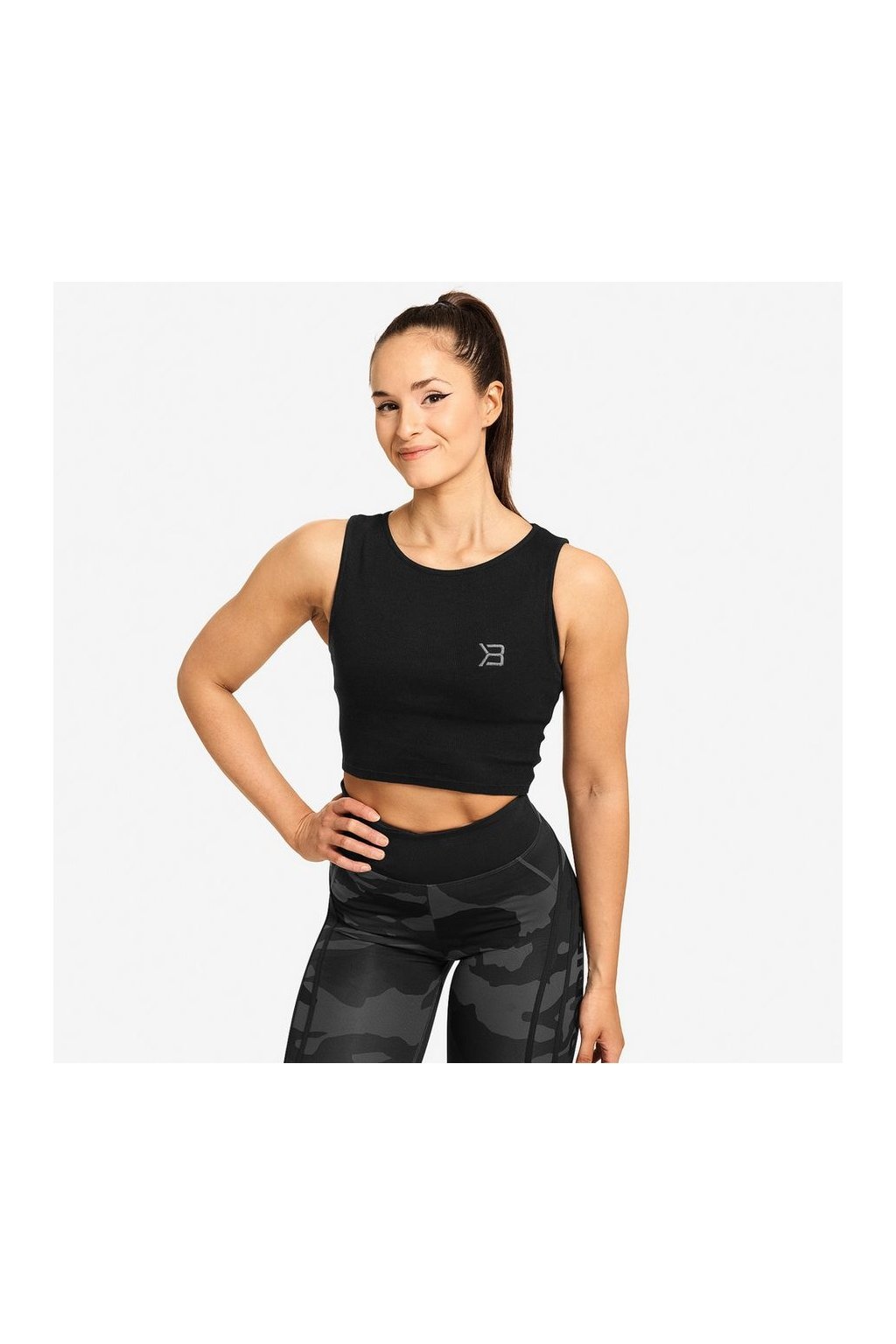 Better Bodies Crop-top Astoria Black