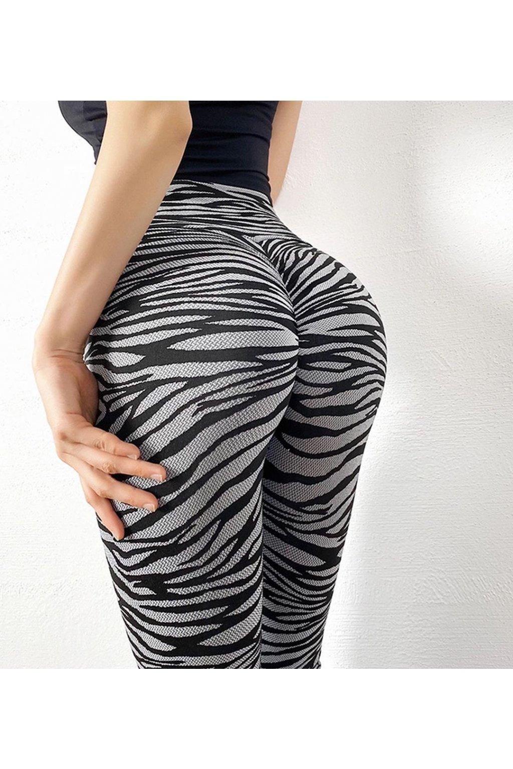 Dámské legíny Zebra Grey