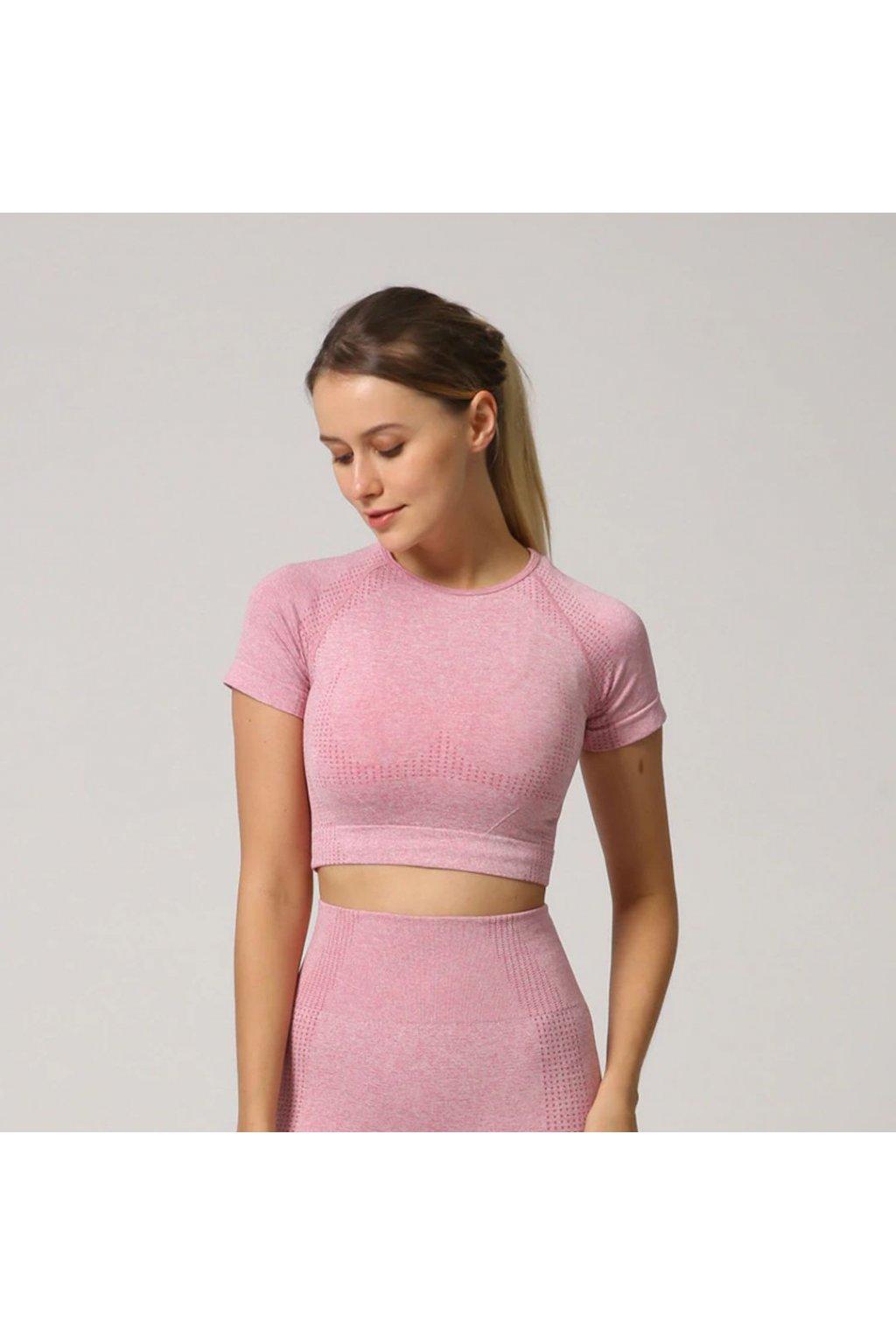 Dámský top Belive Pink
