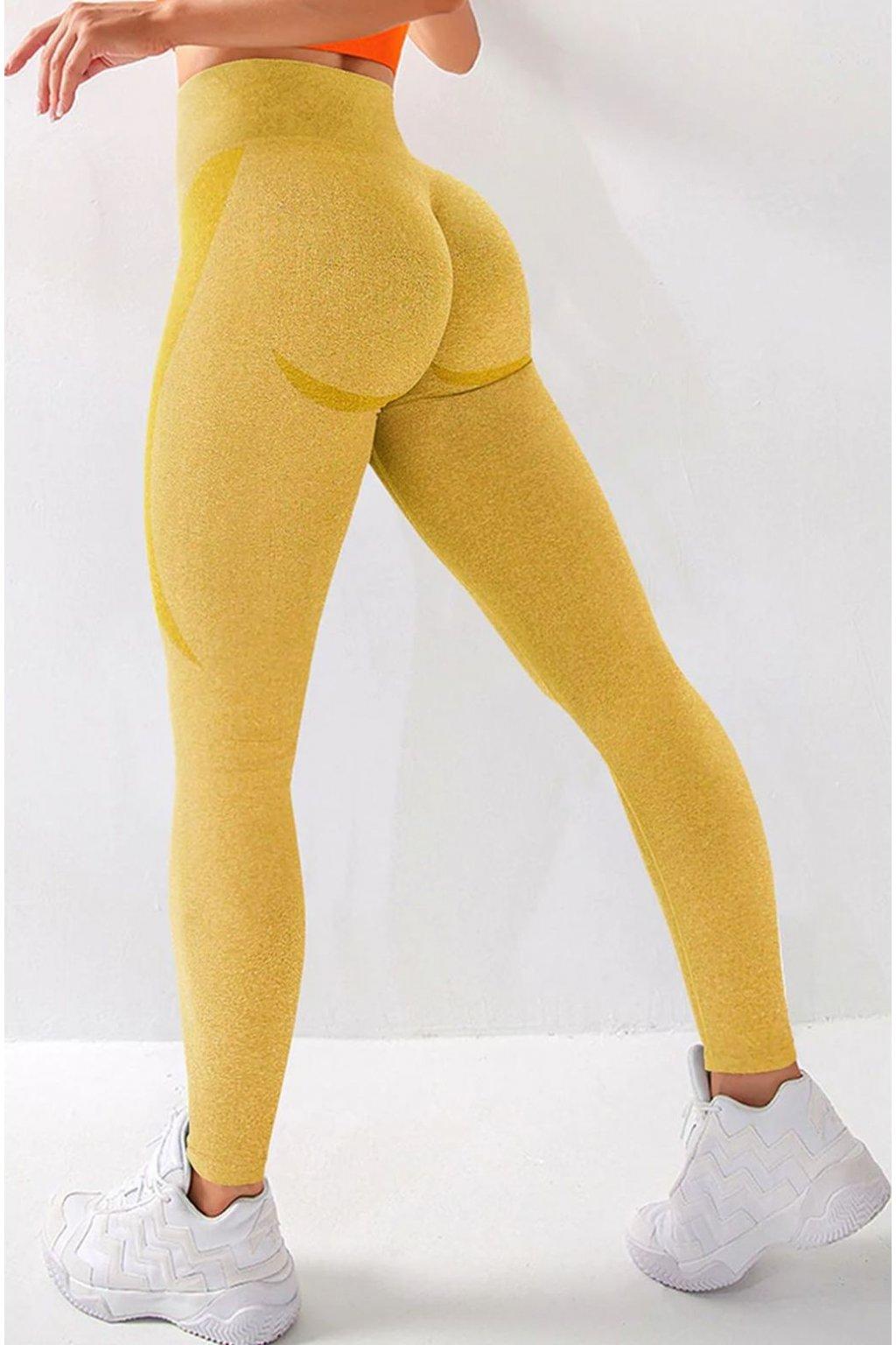 Dámské legíny Wild Yellow