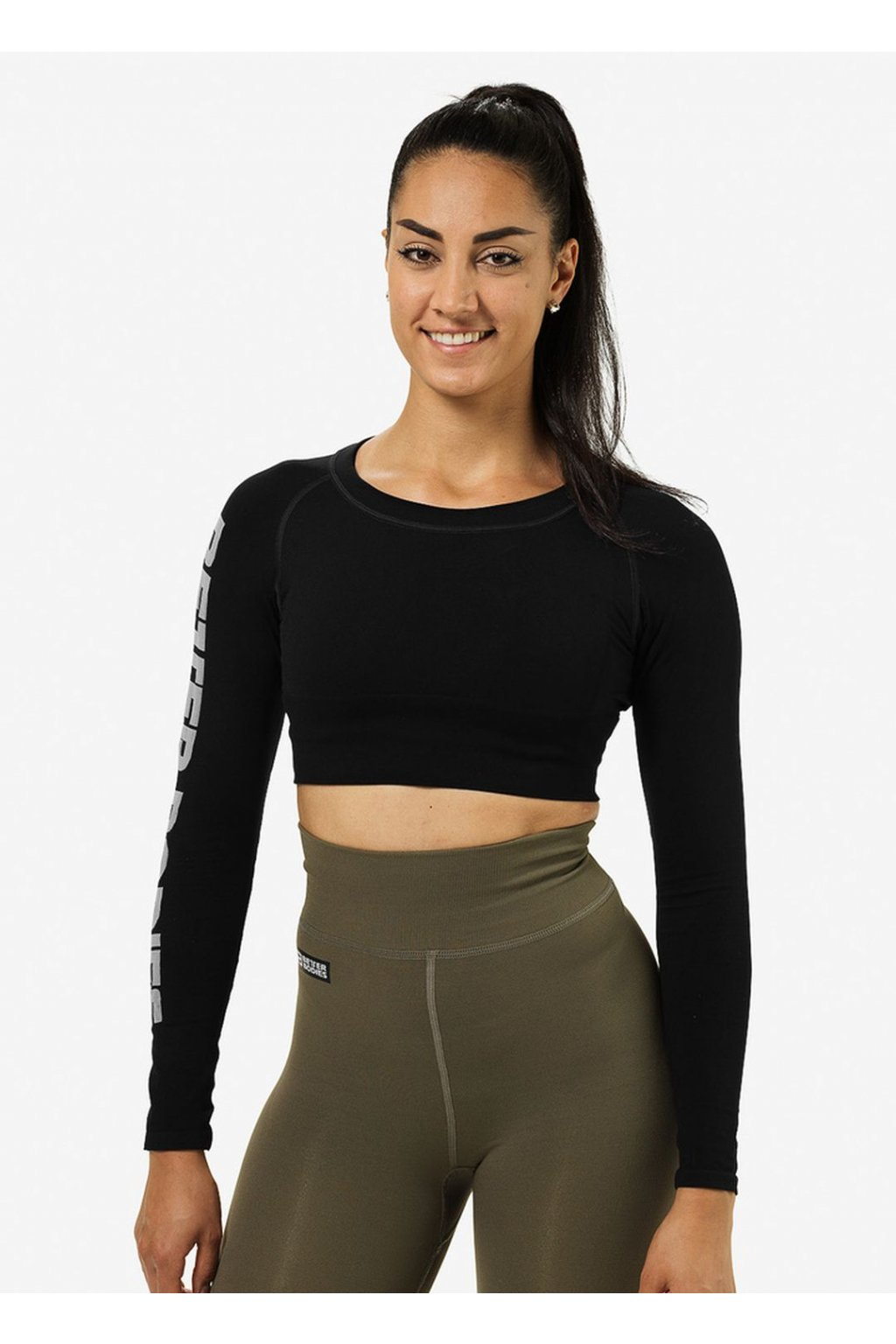 Better Bodies Crop-top Bowery Black