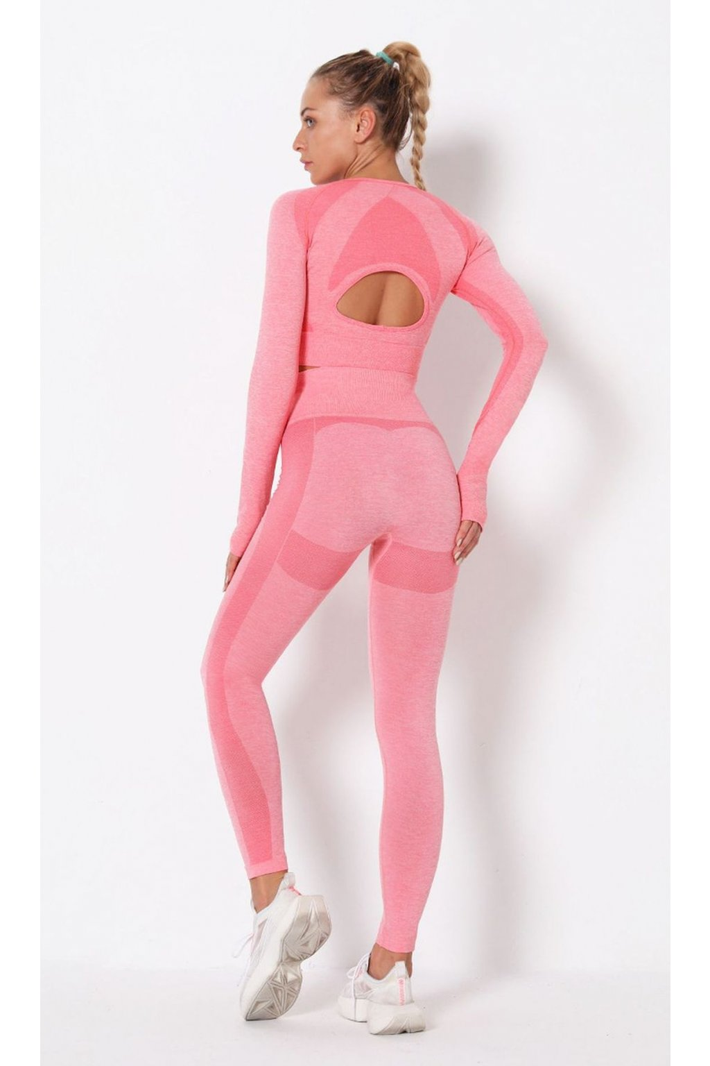 Dámský set Power Mode - Baby Pink