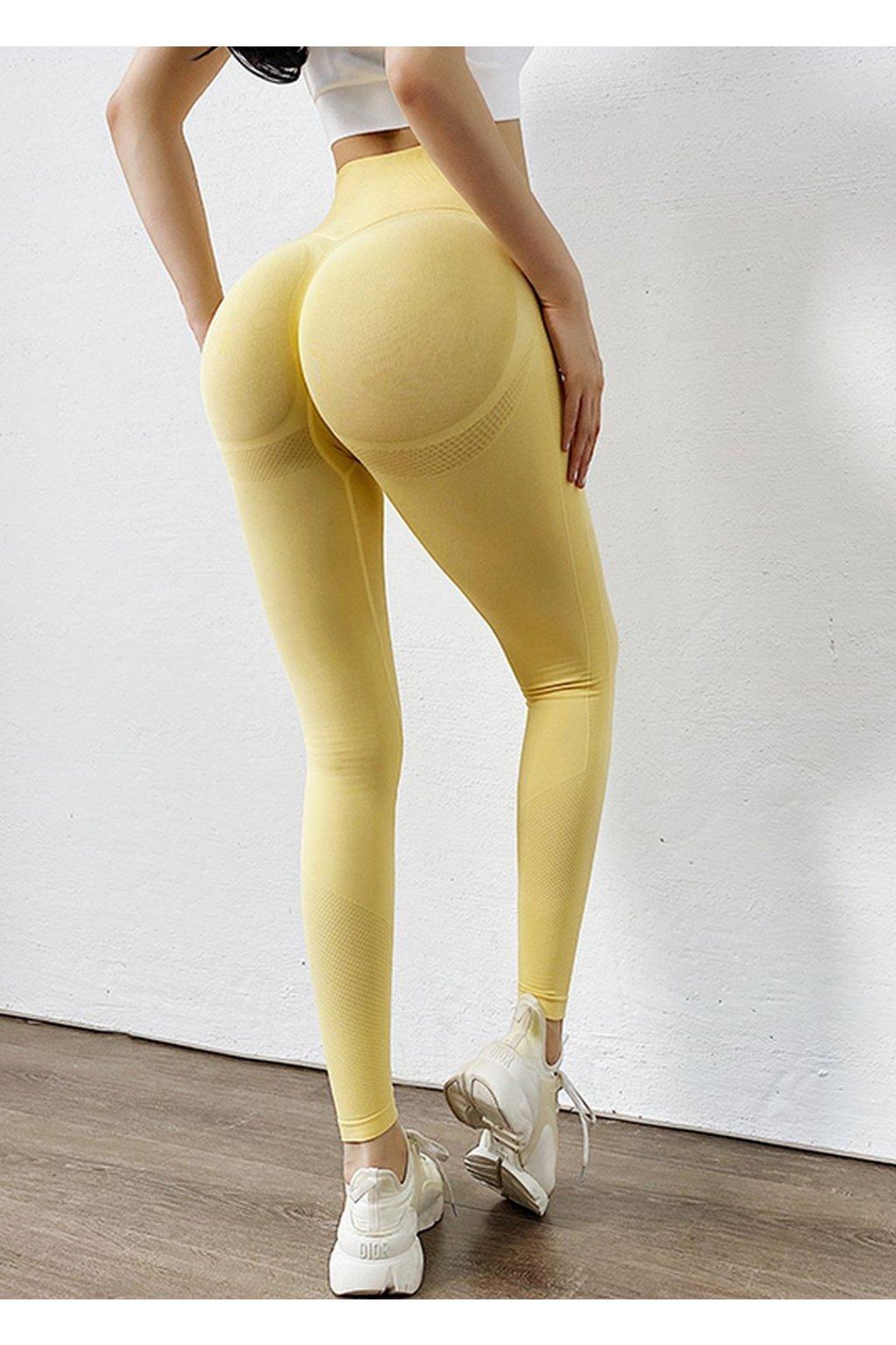 Dámské legíny Synergy - Yellow