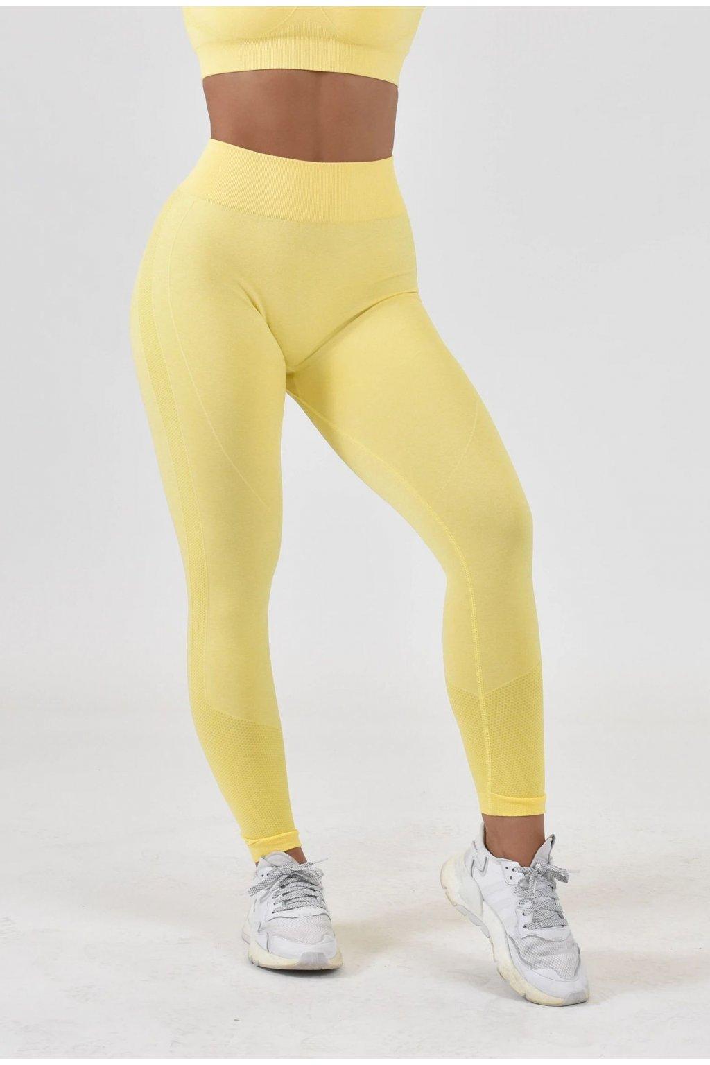 Dámské legíny Motion Yellow