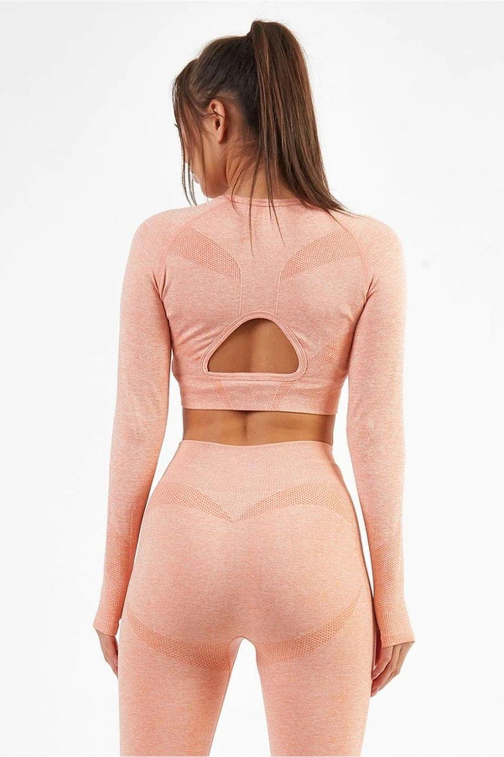 Dámský top Motion Peach Pink