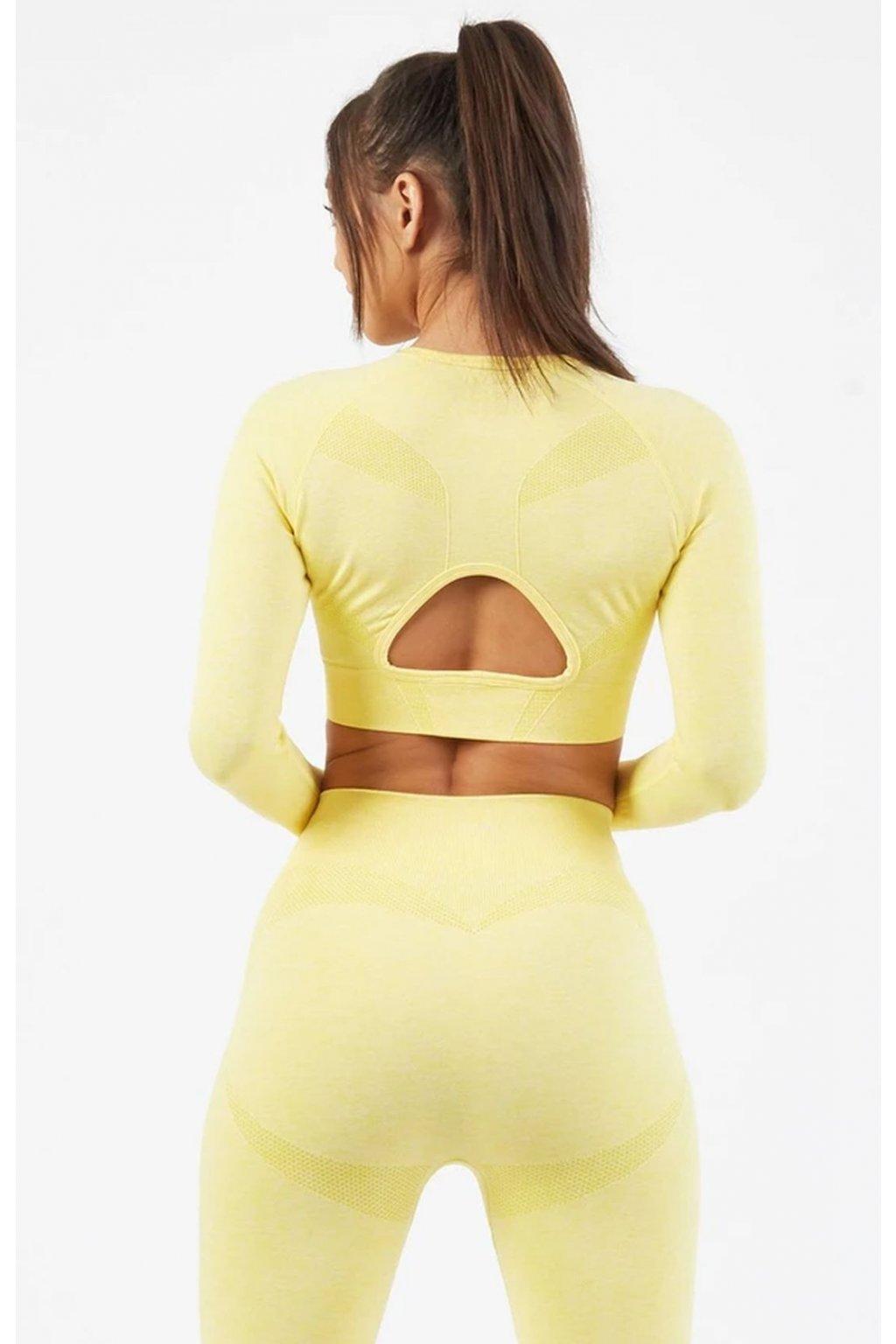 Dámský top Motion Yellow