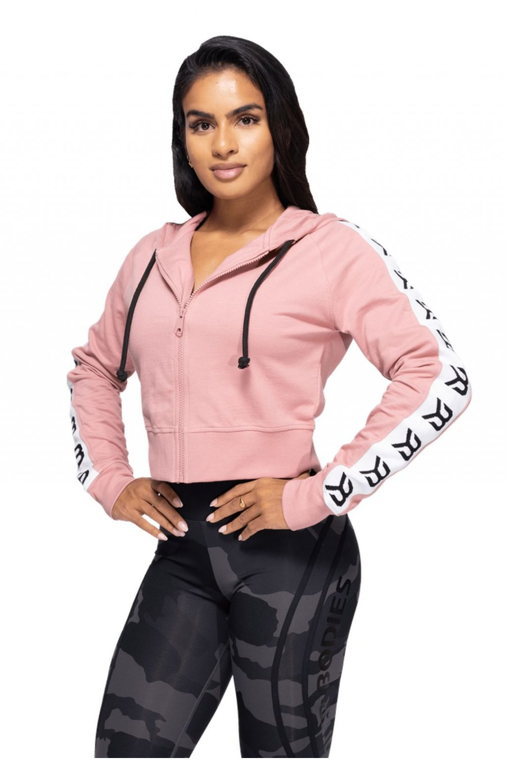 Mikina Better Bodies Heather Pink