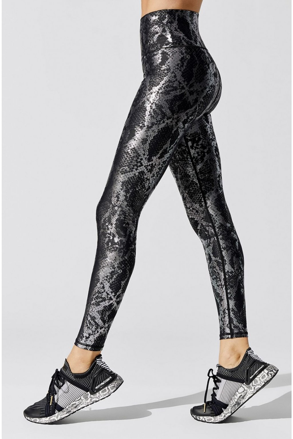 carb crb19331d snablk carbon38 snake print legging bottoms black 0016