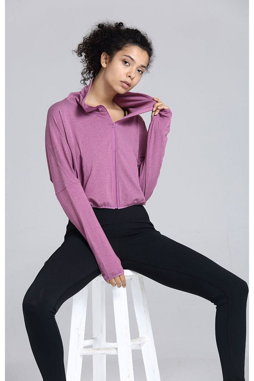 Dámská bundička Reversible Pink