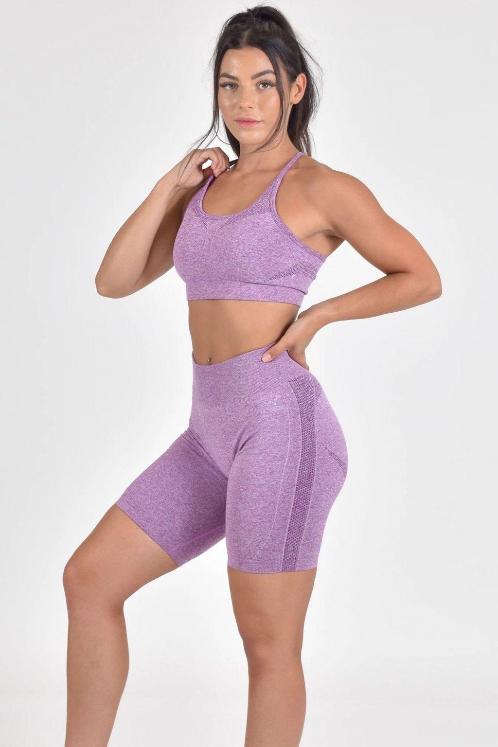 Sportovní podprsenka Motion Purple