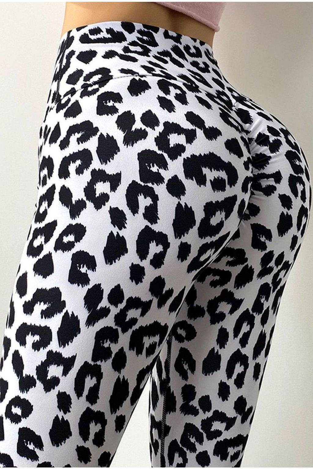 Dámské legíny Cheetah Stone White