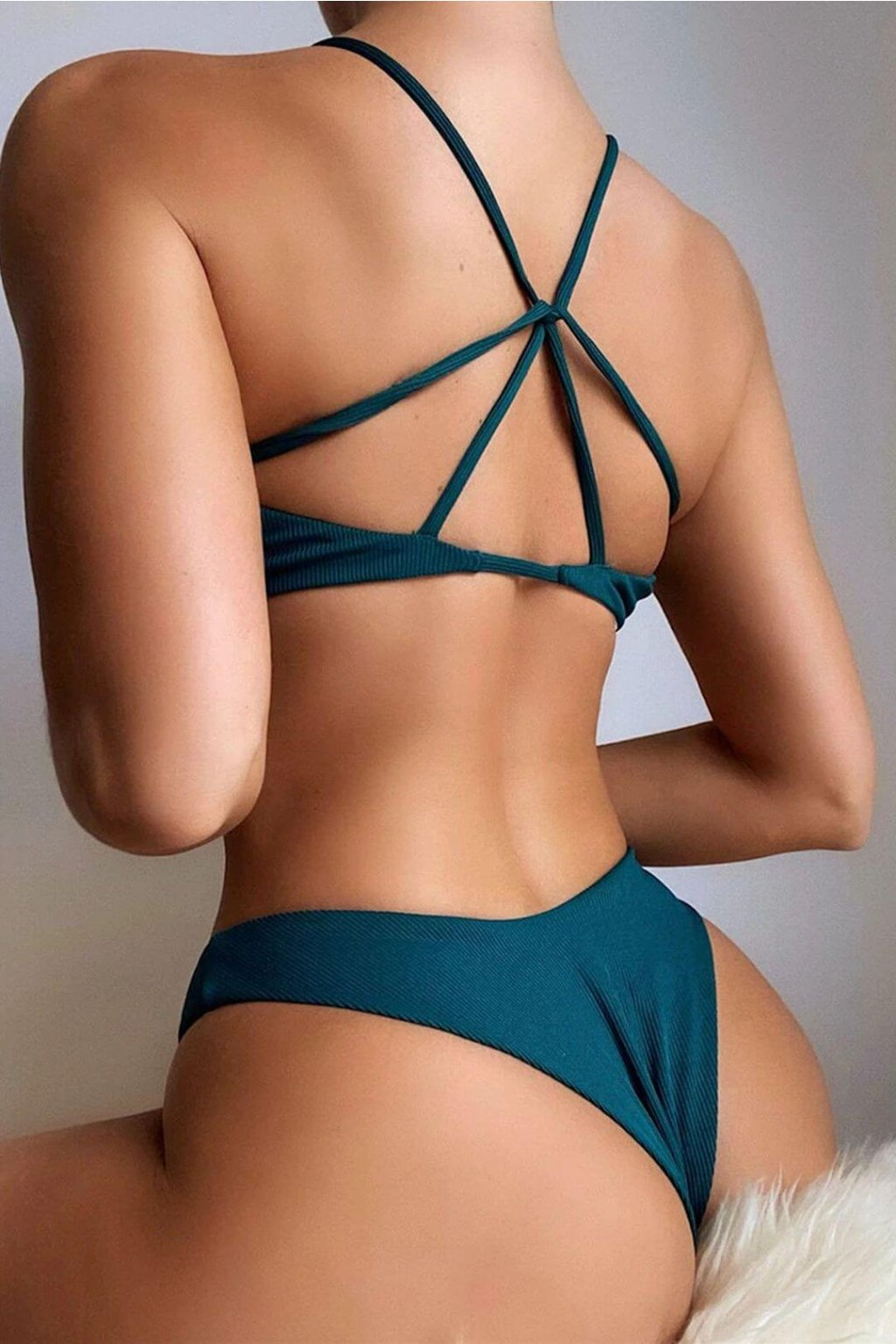 Dámské plavky Delusion Green