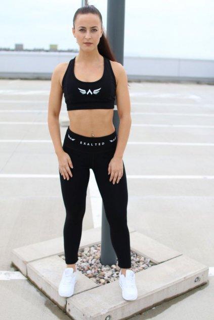 Sportovní podprsenka Exalted - Černá