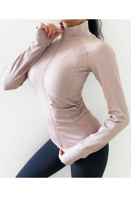 Dámská mikina Slim Fit Light Pink