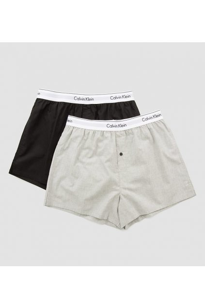 Calvin Klein 2Pack Trenky Black&Grey