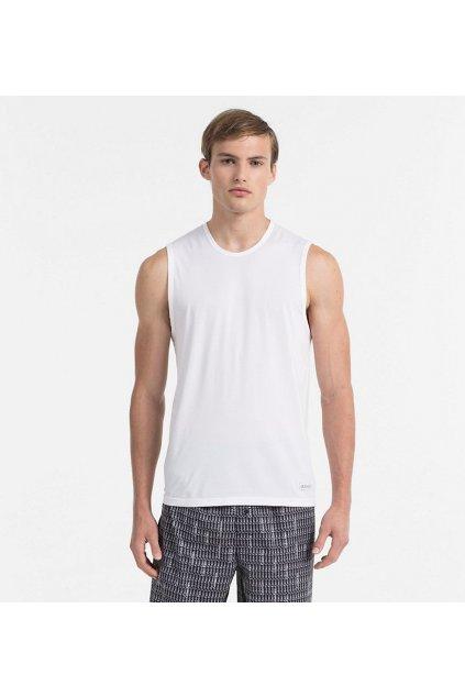 Calvin Klein Pánské Tílko Bílé