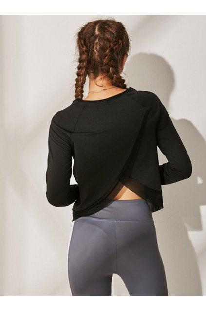 Dámské tričko Holi Black