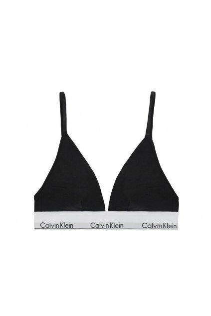 Calvin Klein Unlined Triangle Podprsenka Černá