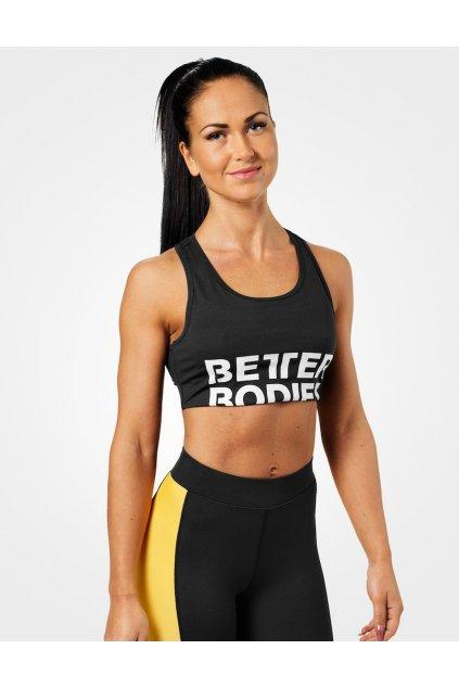 Better Bodies Podprsenka Bowery Sports Black