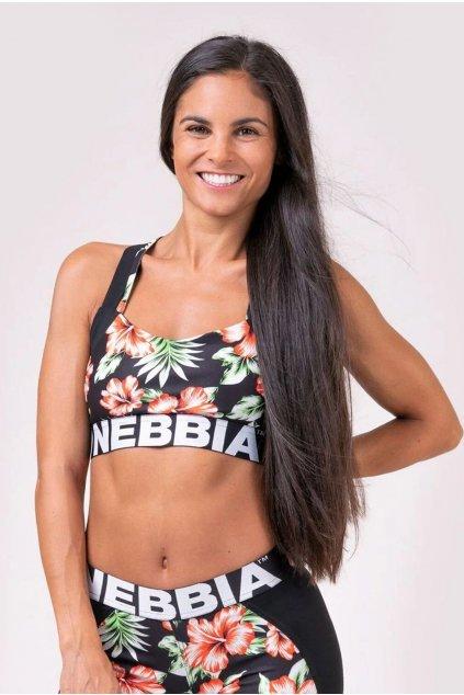 Sportovní podprsenka Nebbia ALOHA BABE 551
