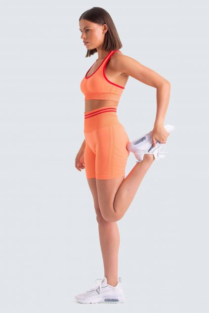 Dámský set Shorts Staple Elastic Orange