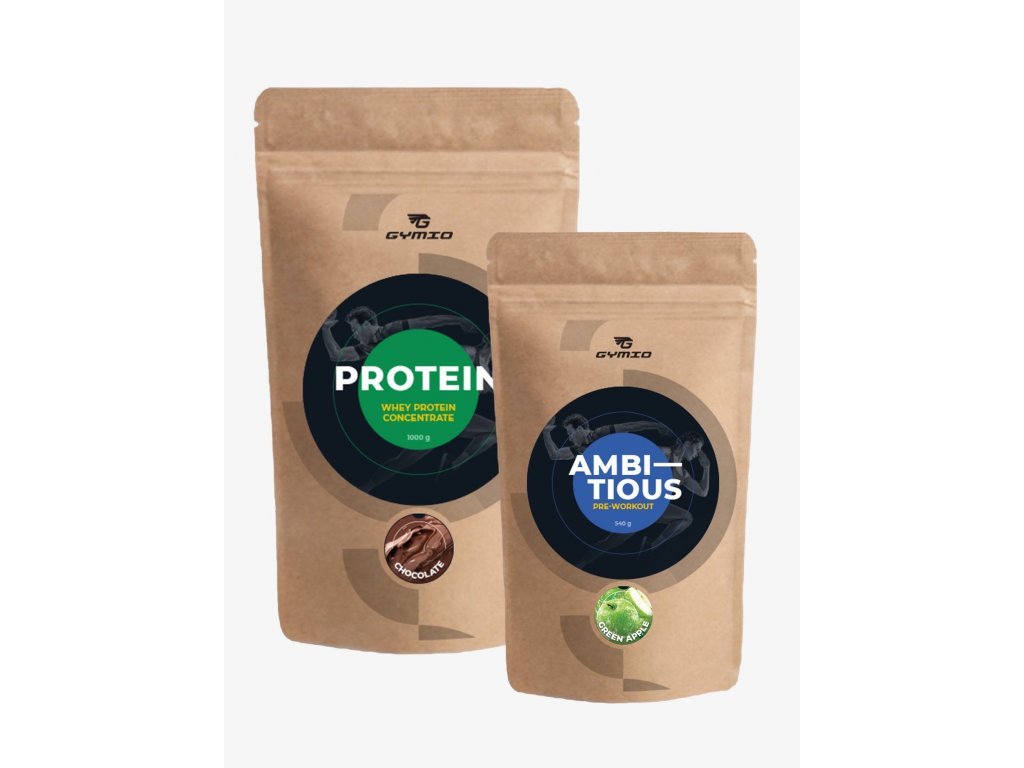 PROTEIN + AMBITIOUS (Green apple)