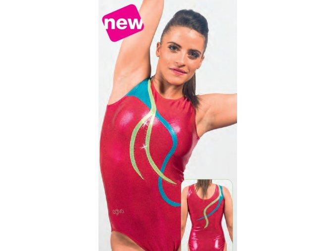 Gymnastický dres - 1987