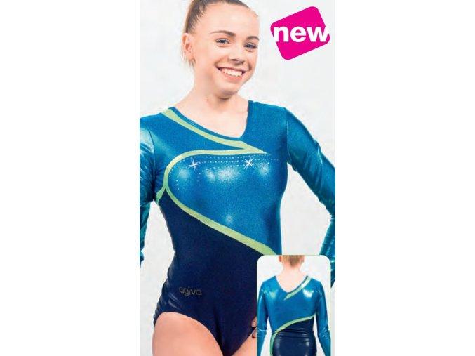 Gymnastický dres - 8667