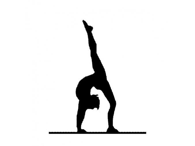 Nálepka MAXI Gymnastka
