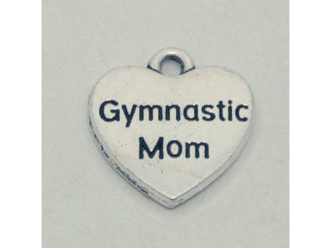 Přívěšek Gymnastics mom