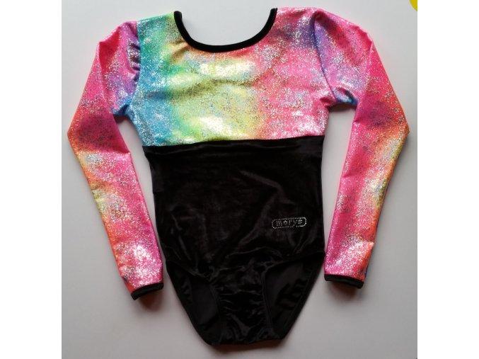 Dres Nella black, Sparkly rainbow