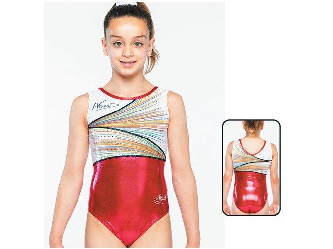 Gymnastický dres - 97006 - red - Nina Derwael