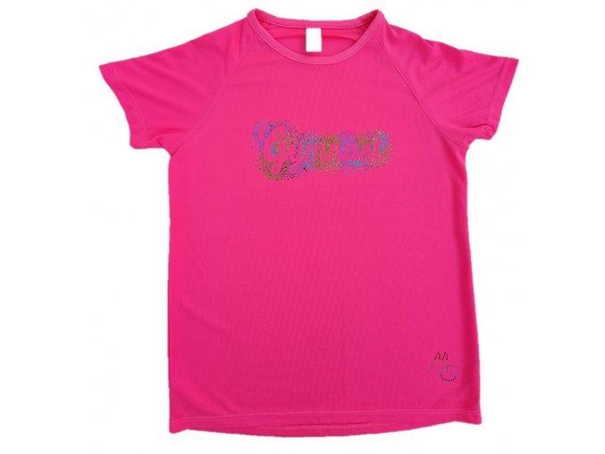 Tričko neon růžová MG 801