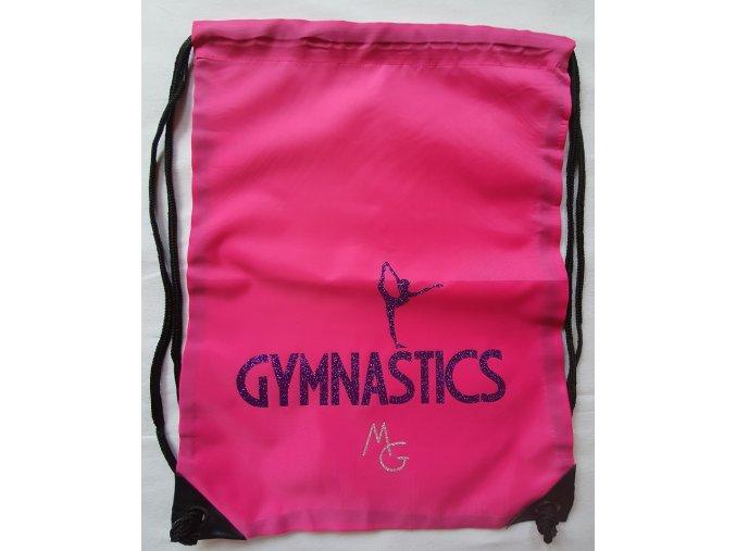 Gymsack gymanstics růžová, fialová