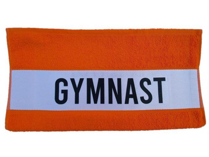 Ručník subli GYMNAST oranžová