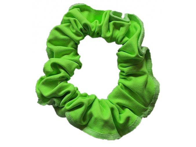 Gumička micro zelená neon