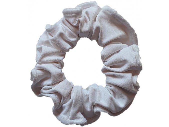Gumička micro bílá