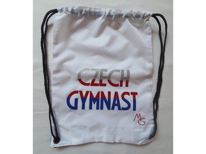 Gymsack Czech gymnast bílý