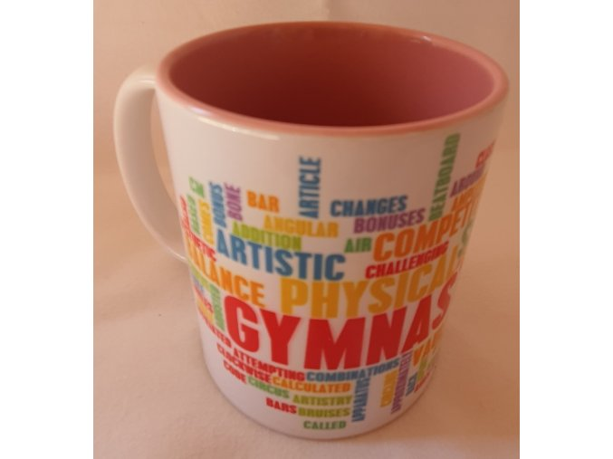 Hrneček Gymnastics mix růžová 1