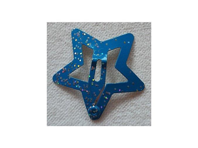 Sponky hvězdičky malé modré