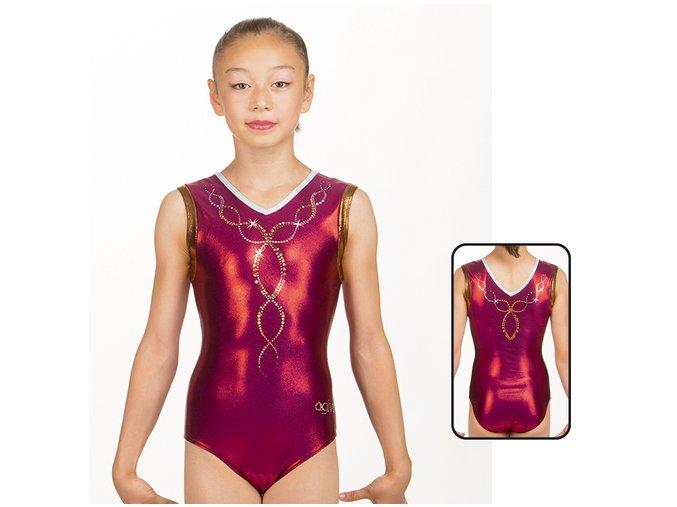 Gymnastický dres - 8863